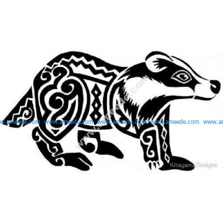 Tribal Badger