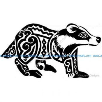 Tribal Badger