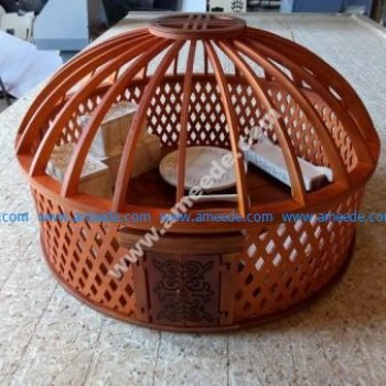 Yurt Jewelry Box