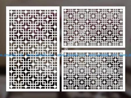 cnc cut pattern vector file 1