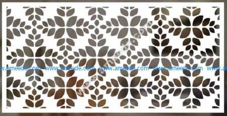 cnc cut pattern vector file 10