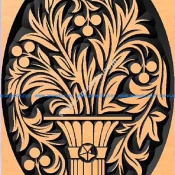 ornament vase