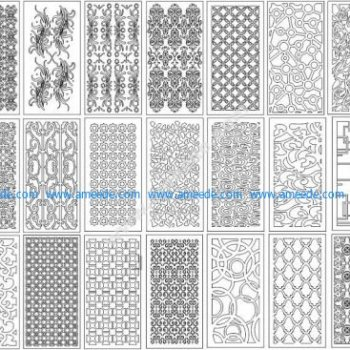 CNC Pattern Collection Vector Design Pattern Files