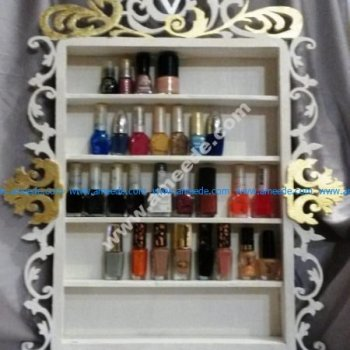 Free Vector Nail Polish Rack Nail Polish Shelf