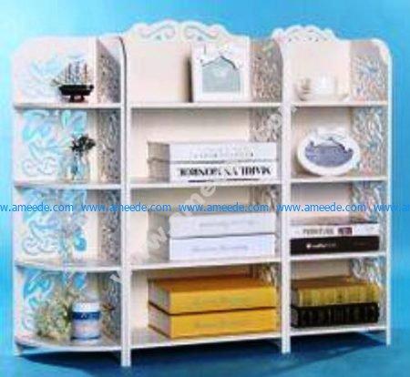 Free Vector Storage Shelf Rack