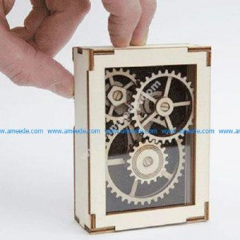Laser Cut Display Gears