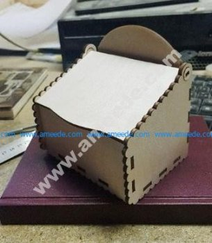 Laser Cut Plywood Box with Lid
