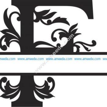 Regal Split Font F