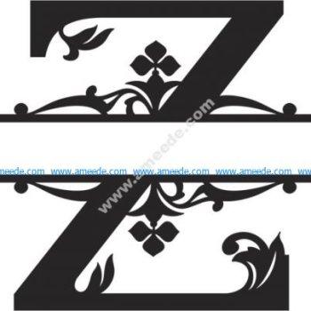 Regal Split Font Z