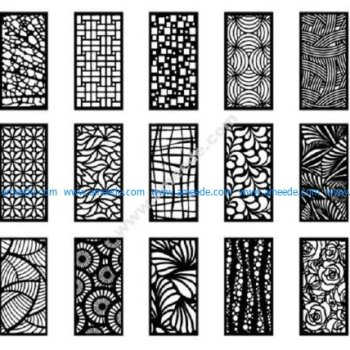 Collection of ScrollWork Pattern Design