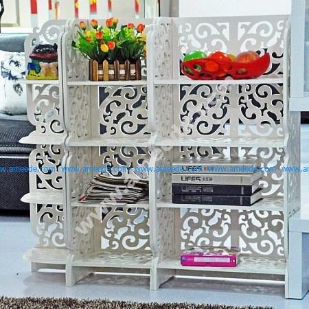 Free Vector Shelf Rack Storage Template