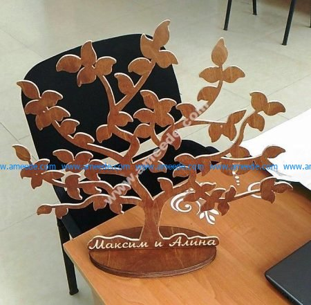 Tree 3D Stand
