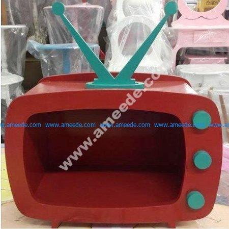 Vector Laser Cut TV