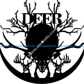 clock to celebrate the hunting season