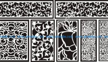 CNC cutting pattern – Amee House