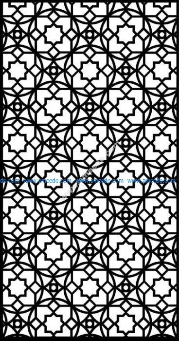 Moroccan Screen Design Pattern