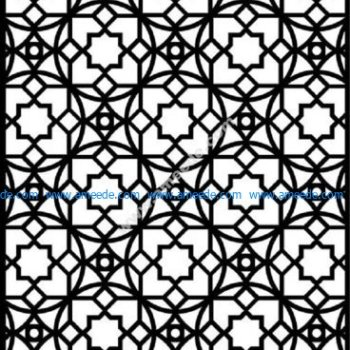 Moroccan Screen Design Pattern