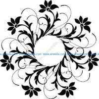Floral Decoration Design Pattern