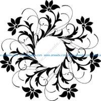 Floral Decoration Design Pattern