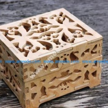 Laser Cut Chess Box 8mm