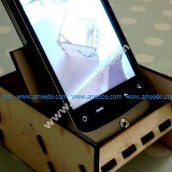 Laser Cut Mobile Phone Stand