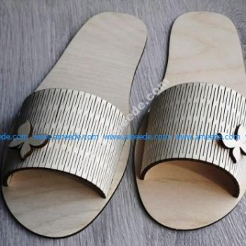 Laser Cut Slippers