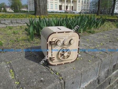 Model laser cutting model safe
