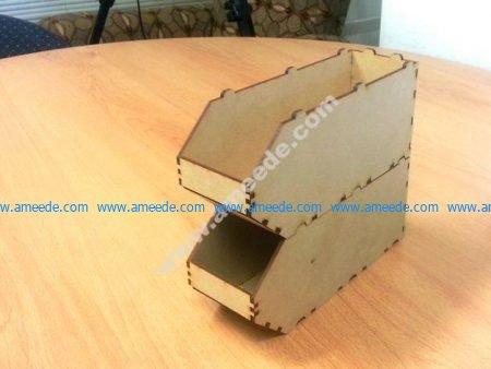 Narrow Stackable Boxes
