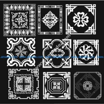 Vector Ornament Paisley Bandana