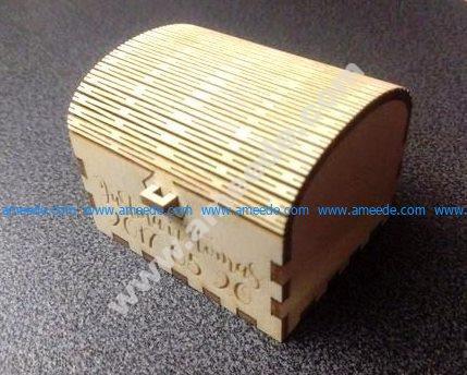 Wedding Ring Box 3mm Plywood