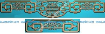 antique furniture pattern in China