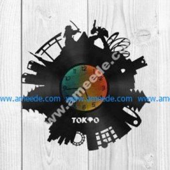 wall clock tokyo