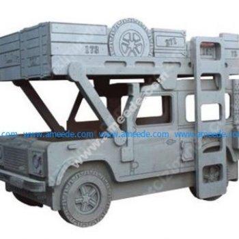 Safari Jeep Sleeping Toy Car