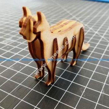 3D Cat Template