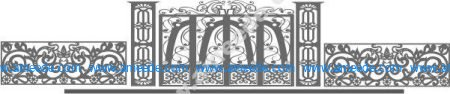 Beautiful gate patterns and fences