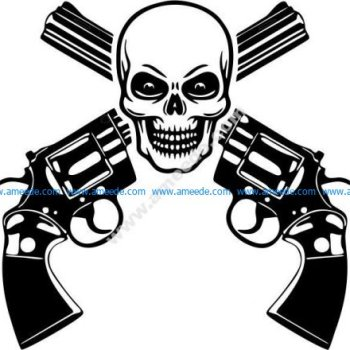 Dangerous shooting range icon