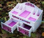 Drawer Storage Box Makeup Organizer