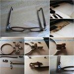 Foldable Wooden Glasses