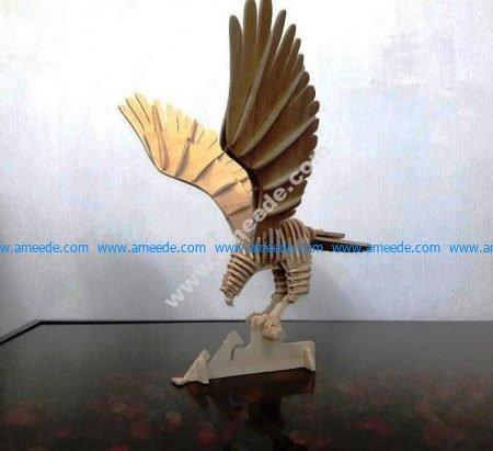 Hawk 3D Puzzle