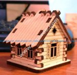 House Hut CNC Template