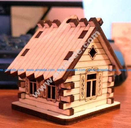 House Hut CNC Template