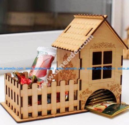Tea House Candy Tea Bags Sugar Storage