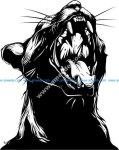 Screaming Cat Print