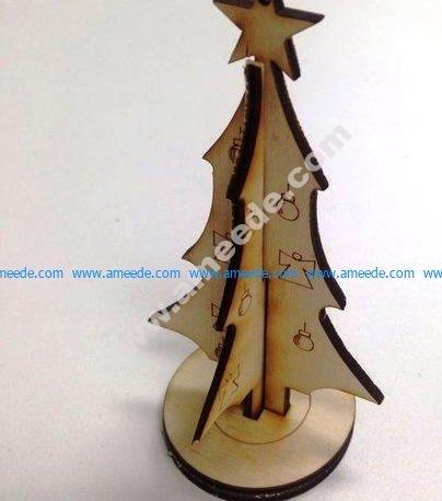 Tree Christmas Ornament