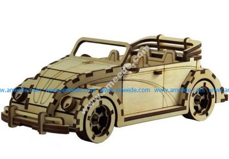 VW Fusca Cabriolet car