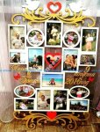 Wedding Photo Frame Template