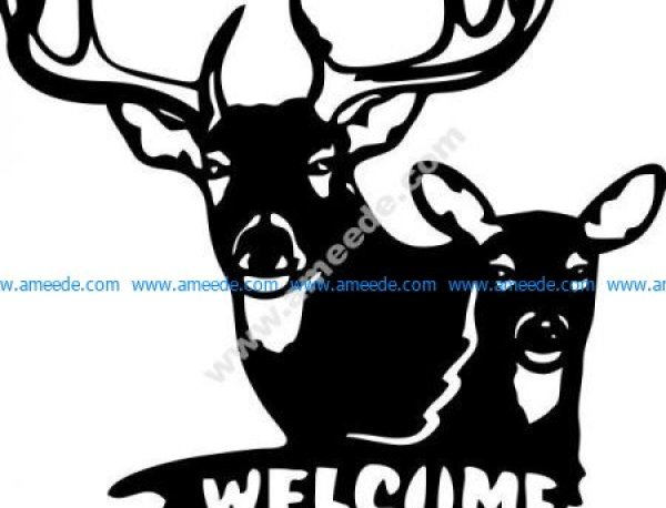 clock shaped deer and crossbred