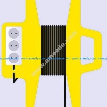 power socket power cord