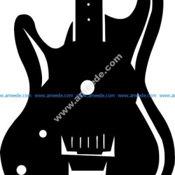 the electric guitar shaped watch