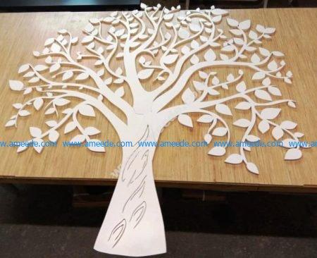 the room decoration tree
